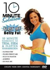10 MINUTE SOLUTION BLAST OFF BELLY FAT EXERCISE DVD NEW SUZANNE BOWEN NEW SEALED