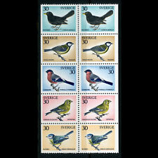 SWEDEN 1970 Christmas. Birds. SG 630-634. Mint Never Hinged. (WE222)