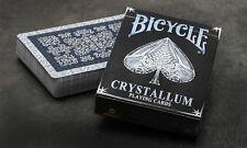 CARTE DA GIOCO BICYCLE CRISTALLUM,poker size