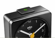 Braun BNC002BKBK color black Sveglia da viaggio classica quadrata - Nero