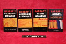 Bibliothèque espagnole Harrap's coffret 4 volumes