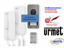 OFFERTA Kit citofonico Bifamiliare Urmet 2 famiglie kit citofono Urmet 1122/602