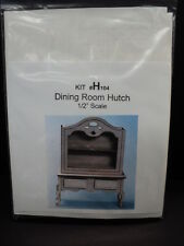 DOLLHOUSE 1:24 SCALE DINING ROOM HUTCH KIT/ H104/ THE HERITAGE COLLECTION