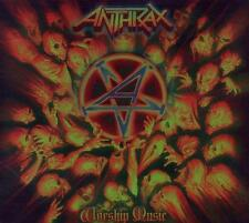 Anthrax-worship Music Ltd. (2011) CD-ORIGINALE IMBALLATO-Merce Nuova