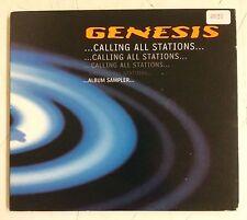 Genesis Calling All Stations CD UK 1997 Album Sampler 7 canciones promocional