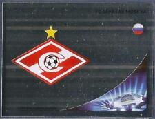 PANINI UEFA CHAMPIONS LEAGUE 2012-13- #480-SPARTAK MOSCOW TEAM BADGE-SILVER FOIL