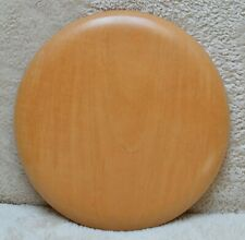 Vintage DAVID WOODWARD - Turned Wooden Sycamore Bread/Cheese Board Platter