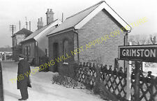 Grimston Road Railway Station Photo. Kings Lynn - Hillington. M&GNR. (1)