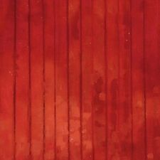 Red Barn Wood Plank Stripe Down on the Farm Fabric Material
