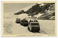 THE SNOWMOBILE TOUR, COLUMBIA ICEFIELDS, ALBERTA, CANADA, POSTCARD