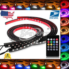 54&72 Under Car Tube underglow Underbody System Neon Lights Kit  LED Strip