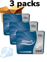 Attends For Men Level 4 Or Shield 4 ,  3 Packs Of 14 , Incontinence Pads 32207