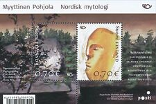 Finland 2008 MNH Sheet - Nordic Northern Mythology - Issued March 27, 2008