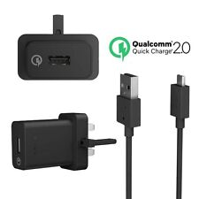 SONY GENUINE QUICK CHARGER UCH10 WITH MICRO USB DATA CABLE NO RETAIL PACKAGE