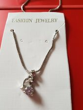dolphine crystal necklace pendant