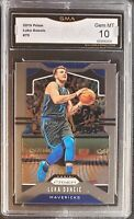 2019-20 Panini Prizm Luka Doncic BASE Dallas Mavericks GMA 10 GEM MINT NOT PSA