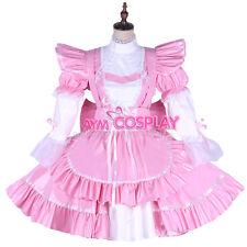 PVC lockable Sissy maid dress Unisex  tailor-made[G1650]