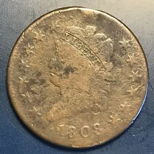 1808 Classic Head Large Cent Better Grade #8013