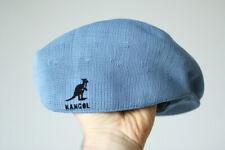 Kangol 504 tropic baby blue vintage classic newsboy Hat Cap medium m