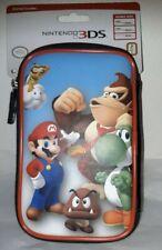 NEW! Nintendo 3DS/2DSXL Travel Case SUPER MARIO Donkey Kong Goomba Carry 8 Games