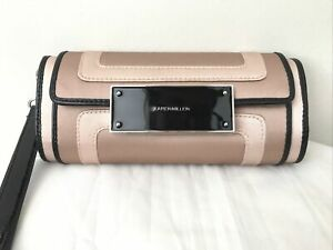 Karen Millen Clutch Bag Purse Loop Handle Blush Pink Champagne Colour Wedding