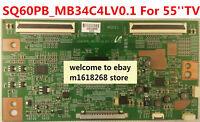 Original Samsung T-Con board  SQ60PB_MB34C4LV0.1 SQ60PB-MB34C4LV0.1  For 55''TV