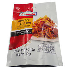 30g Dried Shredded Pork Food Snack Crispy Flossy  Dilicious appetizer Thai foods