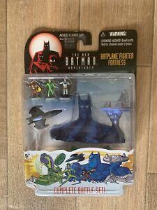Batman Action Figure New Batman Adventures Series Batplane Fighter Fortress 1998