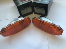 MGF INDICATOR LIGHTS MG AMBER ORANGE LENS XBD100641 XBD100651 NEW GENUINE