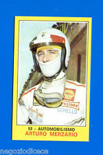 New Figurina CAMPIONI DELLO SPORT 1970/71-n. 53 - MERZARIO -AUTOMOBILISMO-Nuova