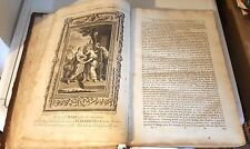 Very old & very Rare 'Life of Jesus Christ - illustrated Book - signed 1788 Thom