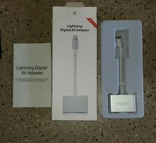 Lightning To Digital AV Adapter HDMI