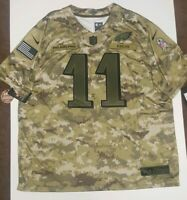 Nike Carson Wentz Salute To Service Philadelphia Eagles Jersey Sz 3XL AH4951 336