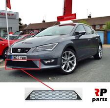 FOR SEAT LEON FR 2012 - 2017 NEW FRONT BUMPER LOWER CENTER GRILL BLACK