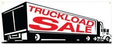 Truck Load Sale Banner Furniture Store Closing Cheap Retail Store Sign 36x96