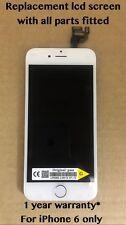 Genuine qualità Sostituzione LCD & Touch Screen Per Originale Apple iPhone 6 WHITE