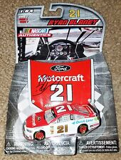 RYAN BLANEY **SIGNED** #21 MOTORCRAFT 1/64 DIECAST + 6 FREE GLOSSY PHOTOS #5