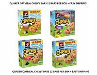 Quaker Chewy Granola Bars Chocolate Raisin Oatmeal Pick Your Flavor Cheap Ship