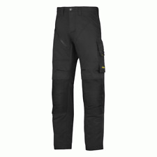 """6303 Navy Blue Snickers RuffWork Work Trousers Black Regular Leg (32"""") Size 52 36"""" Waist"""
