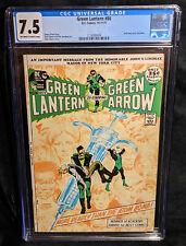Green Lantern # 86 (1971) CGC 7.5 VF- Universal Speedy Heroin Addict Drug