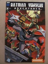 Batman Teenage Mutant Ninja Turtles Adventures #2 DC IDW RI 1:10 Variant 9.6 NM+