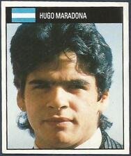Orbis 1990 Copa Del Mundo Colection #017-ARGENTINA-HUGO Maradona-Very Raro