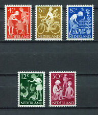 A4596) NETHERLANDS OLANDA 1962 Children  MNH** 5v