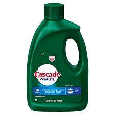 Cascade Complete Action Pacs Gel Dishwasher Soap Dish Detergent 155 oz w/ Dawn