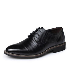 Mens Dress Formal  Oxfords Leather Shoes Business Casual Loafers wedding Fashion