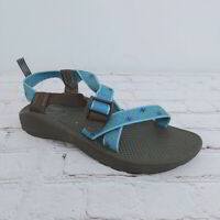 Chaco Sport Classic Z/2 EcoTread Blue Sandals Kids 6Y Women's Size US 8