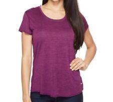 Prana Revere T Shirt XL Grapevine Purple Tee Top Short Sleeve