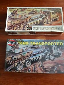 Airfix OO scale Scammel Tank Transporter #02301 series 2 one open one sealed