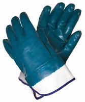 Safety Works MCR Safety  Blue  Men's  Large  Nitrile  Coated  Work Gloves