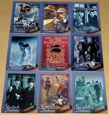 "Sherlock Holmes Special 9 Card ""Hound of the Baskervilles"" Tribute Set (2001)"